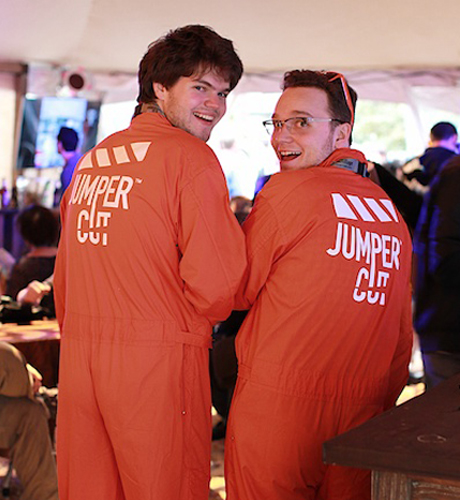We heard jumpsuits were becoming a fashion staple ... but this isn't what we expected.
