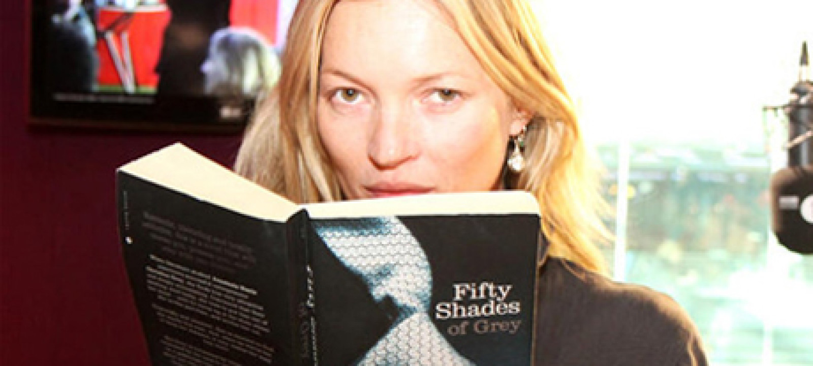 Kate Moss, 50 Shades of Grey