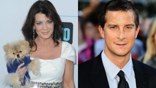 Lisa Vanderpump and Bear Grylls