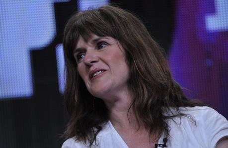 Siobhan Finneran in Los Angeles in July 2011. (Rahoul Ghose/PBS)