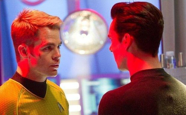 Star Trek, Benedict and Chris Pine