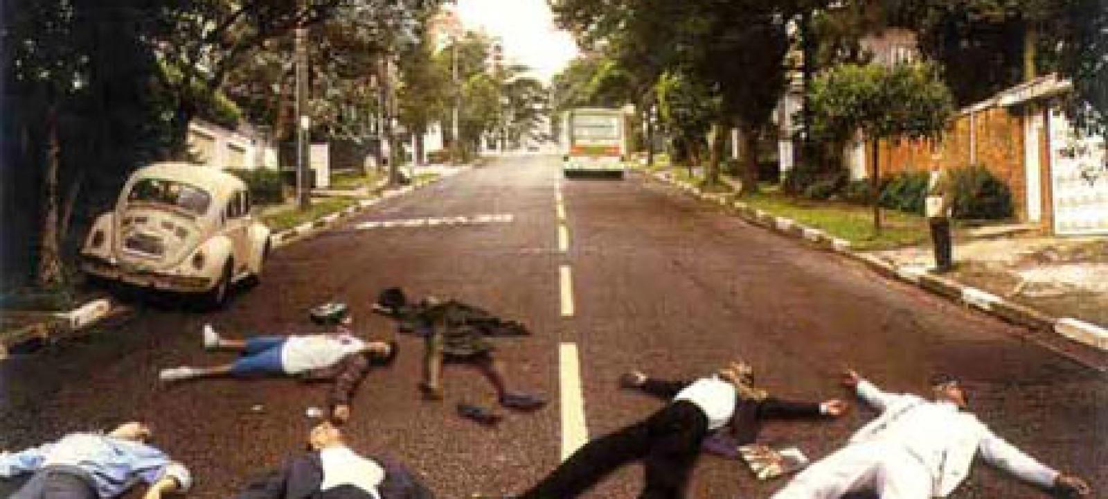 Beatles Parody album covers – Abbey Road