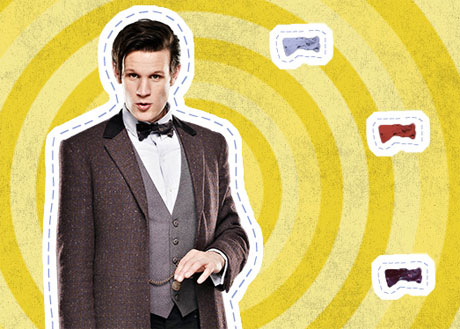 Entertainment Weekly Doctor Who Cutout