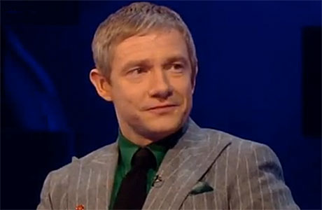 Martin Freeman on Comic Relief's Big Chat, with Graham Norton