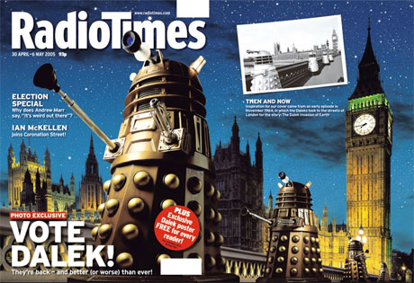 Radio Times - Vote Dalek