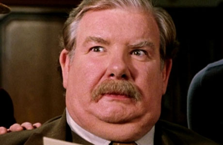 Richard Griffiths, as Uncle Vernon in the Harry Potter films