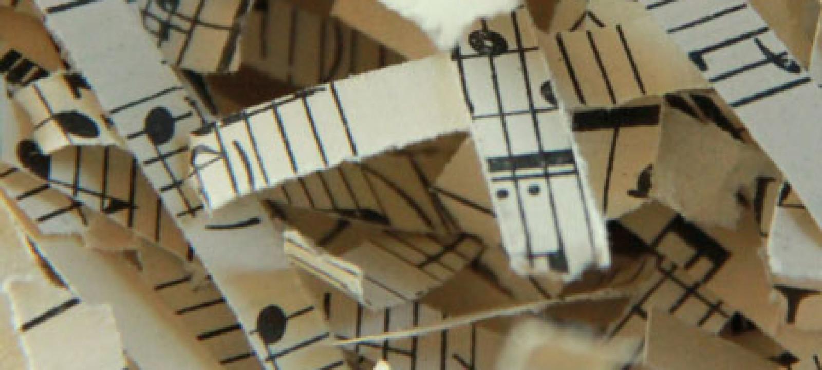 Shredded music