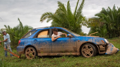 The Subaru - after. (BBC America)