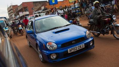 The Subaru - before. (TopGear.com)
