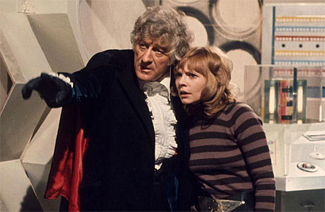 The Doctor shows Jo Grant a thing or two.