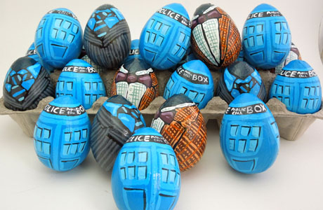 Doctor Who eggs