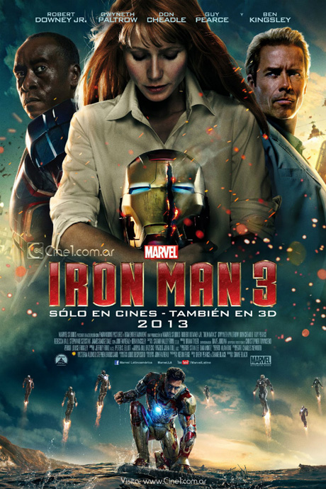 Iron Man 3, LARGE