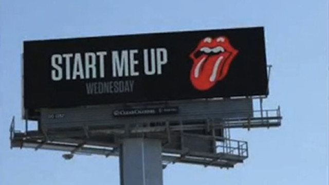 Stones Billboard Ad