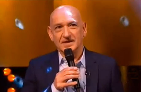 Sir Ben Kingsley on the Jonathan Ross TV show