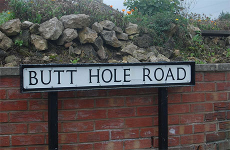 Butt Hole Road, Conisborough