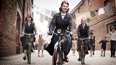 Midwives on bikes (BBC)