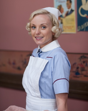 Helen George as Trixie Franklin (Laurence Cendrowicz/Neal Street Productions)