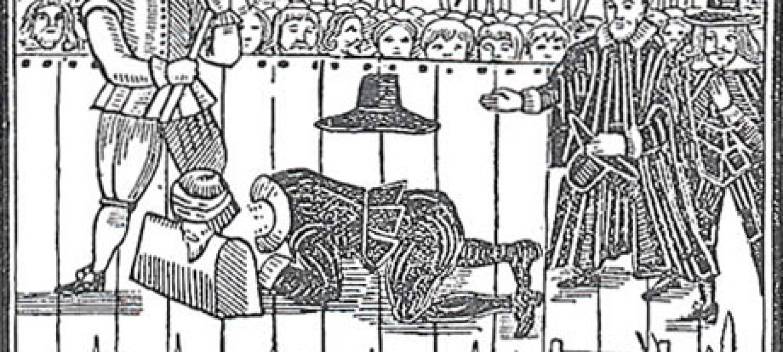 The beheading of Charles I