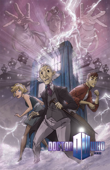 The first Doctor, by Dan Norton