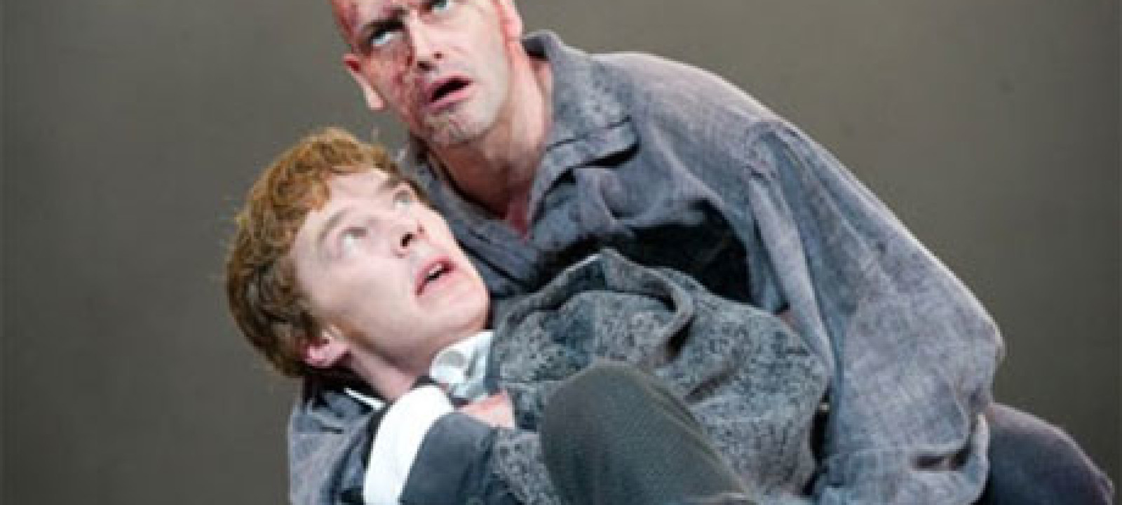 Benedict Cumberbatch and Jonny Lee Miller in Frankenstein