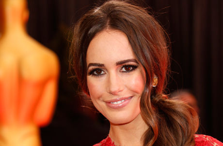 Louise Roe at the 2013 Academy Awards. (Photo by Todd Williamson/Invision/AP)