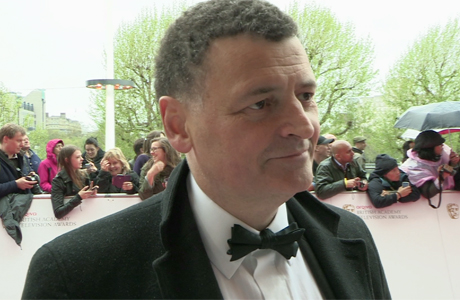 Steven Moffat at the BAFTA TV Awards in London, May 12, 2013 (Photo: BBC AMERICA)