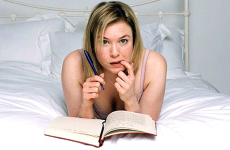 Bridget can't quite believe her own diary. (Miramax)