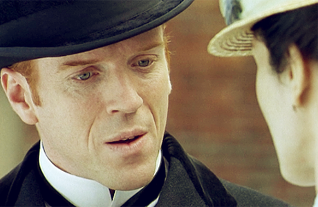 Damian Lewis looking deceivingly dashing in the Forsyte Saga. (BBC)