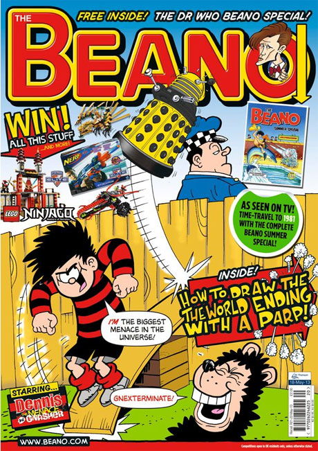 The Beano Doctor Who special