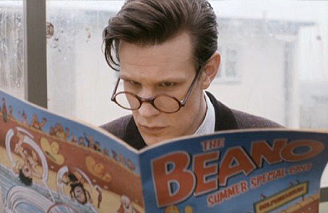 The Doctor reads the Beano