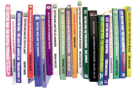A collection of Doctor Who novelisations