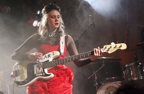 Kate Nash in Sheffield back in April on her 'Girl Talk' tour. (Rex Features via AP Images)
