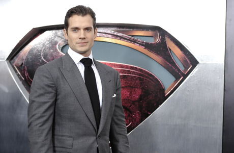 Henry Cavill at the 'Man of Steel' premiere. (Photo: Evan Agostini/Invision/AP)
