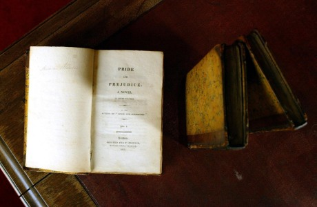 A rare copy of Pride and Prejudice