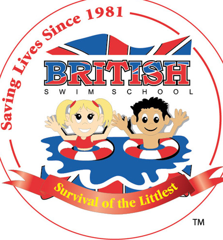 British Swim School logo.