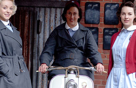 The women of 'Call the Midwife' are keeping busy during the filming hiatus. (PBS)
