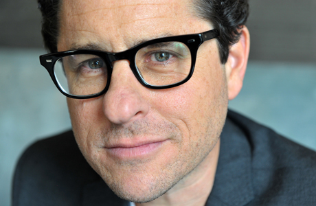 JJ Abrams hanging out at the Corinthia Hotel in London. (AP)