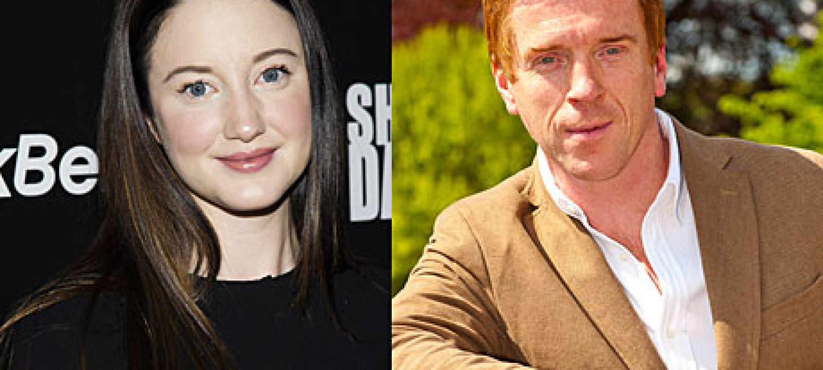 Andrea Riseborough and Damian Lewis