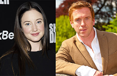 Andrea Riseborough and Damian Lewis (PA Images)