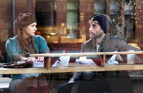 Karen Gillan and Stanley Weber in 'Not Another Happy Ending'