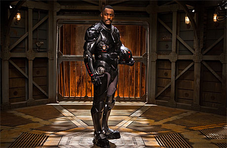 Idris Elba in 'Pacific Rim'