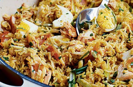 Kedgeree (pic from BBC Good Food)