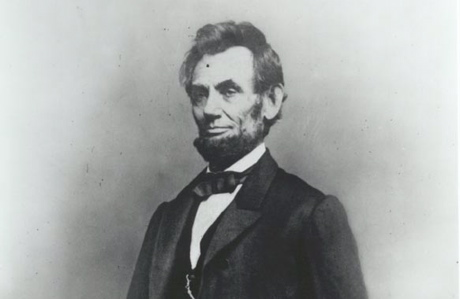 Abraham Lincoln, Jan. 8, 1864, in a photo by Mathew Brady (Library of Congress)