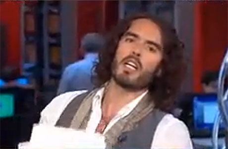 Russell Brand on MSNBC's Morning Joe, yesterday
