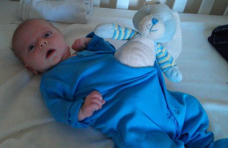 Bringing up baby. (Photo: Tim Stewart News/Rex Features/AP)