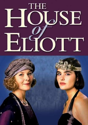 The House of Eliott poster featuring (BBC).