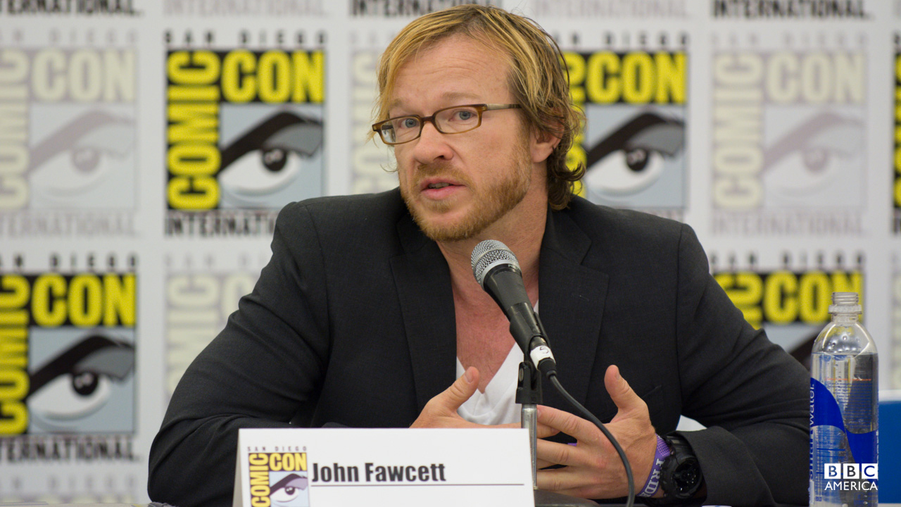 Throwback! John Fawcett answers questions at SDCC 2013.