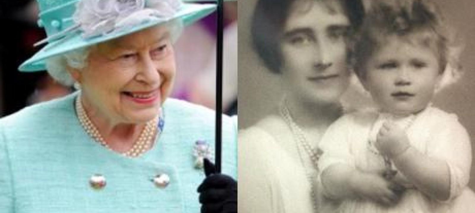 Queen Elizabeth, Then and Now