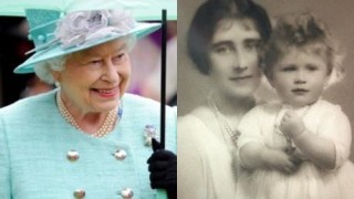 Queen Elizabeth, Then and Now