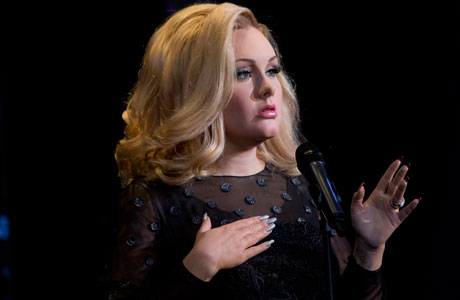 Adele's waxwork (All photos by Joel Ryan/Invision/AP)